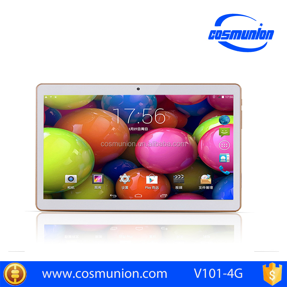 10.1 inch Quad Core Tablet PC support 4G/3G/2G dual sim card
