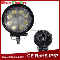 hot sales 8leds 24W 12V 24V led work light,High Lumens Auto 24w Led Working Light