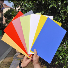 Colored extruded plastic 0.3mm polypropylene sheets