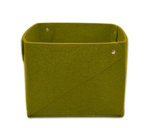 Environmental protection Collapsible Household felt basket felt Magazine storage basket