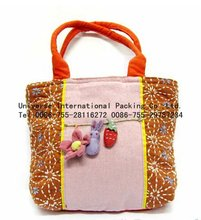 Hotsale dual handled promotion cotton bag