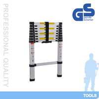 telescopic aluminum useful and popular ladder,aluminum extension ladder QH-A9