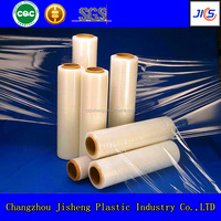 6000m length flexible blow self adhesive transparent pvc film