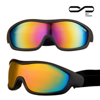 High performance outdoor sports colored snowboard eyewear