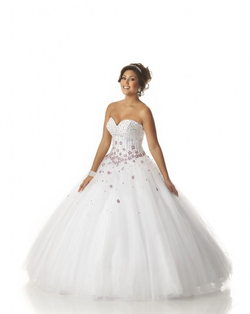 b1fb6d559b Get Quotations · Hot Sale Beaded Top Appliqued White Quinceanera Dresses  Vestidos De Quinceanera Vestido De 15 Anos Sweet