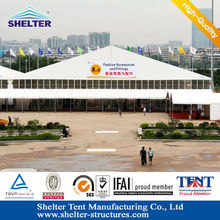 40m Changzhou L-series huge outdoor events marquee for exihibition/trade fair tent supplied for Canton fair tents