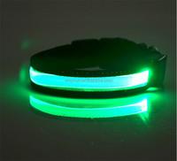 waterproof luminous LED dog collar light style flash led dog leash for pet dog