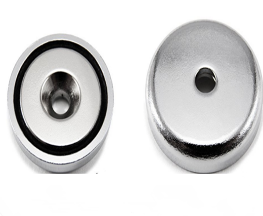 Free sample super strong thin coin shape hard round ndfeb neodymium magnet with a hole in center