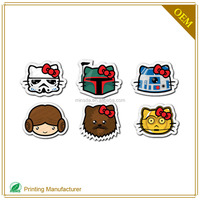 New Designe Adhesive Cartoon Sticker Printing With Printed Labels