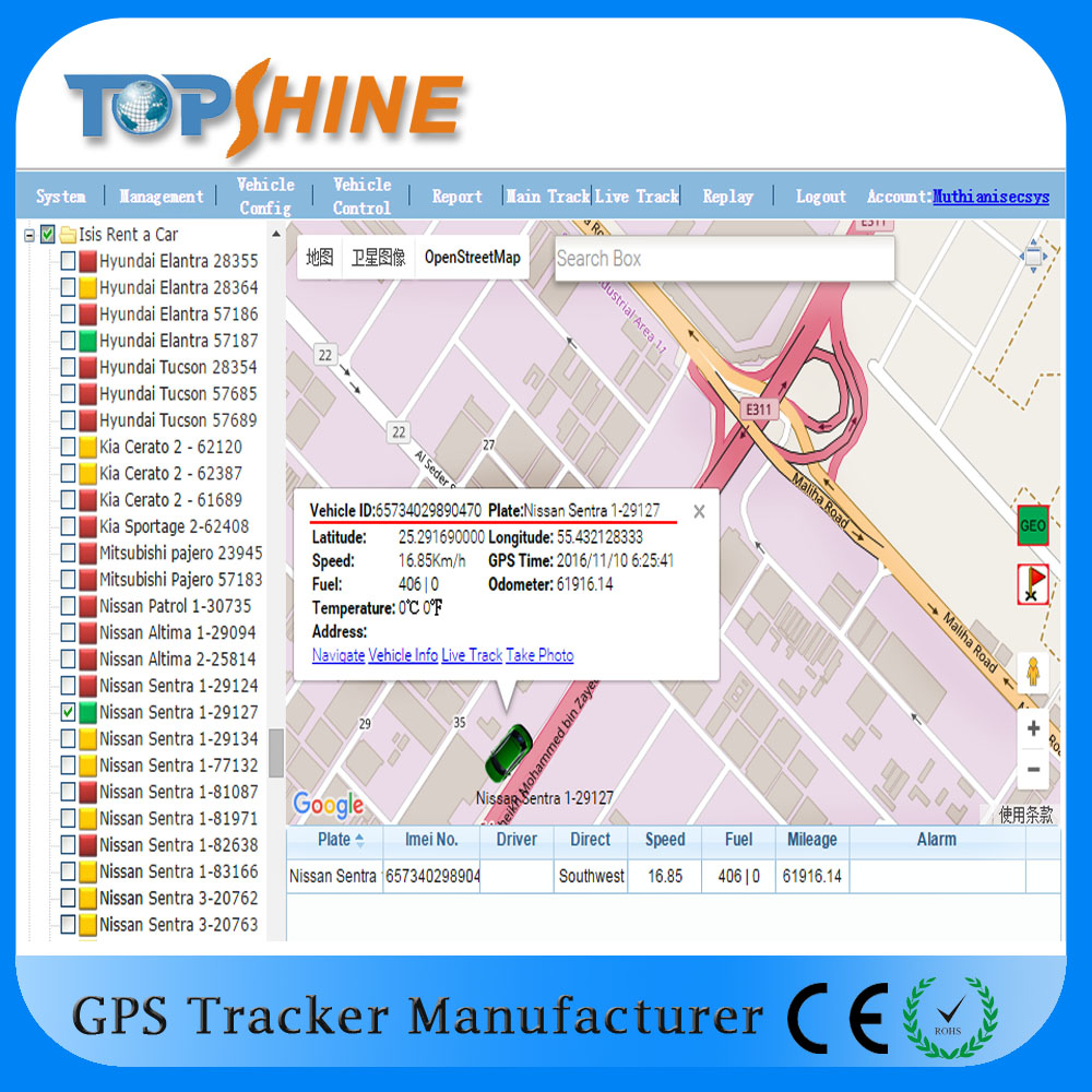 Multifunction Real Time open source code gps tracking software