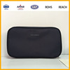 Ladies Cute PU Leather Cosmetic Bag Makeup Case Pouch Purse Black