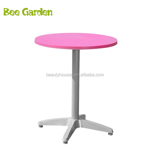 Stock Outdoor Furniture Hot Sale High Quality Plastic High Top Round Bar Cocktail Table