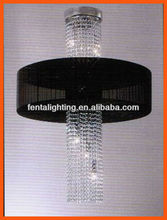 modern chandelier for high ceilings T-701 Crystal ceiling lamp