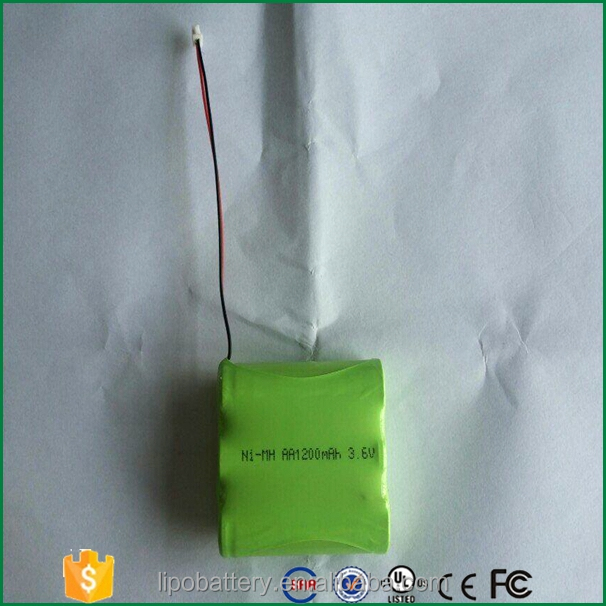Ni-MH Battery packs AA 1200mAh 3.6V rechargeable battery for Robot Vacuum Cleaner