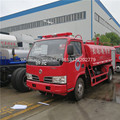 Dongfeng 4000 liters water tank fire fighting truck fire rescue truck