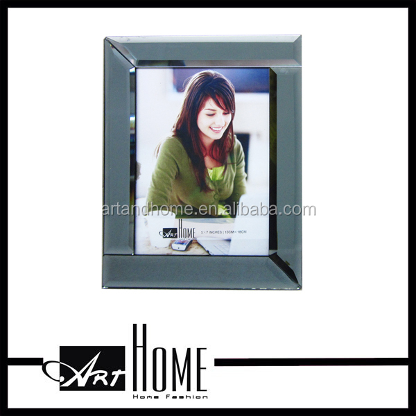 high quality paper magnet glass photo frame