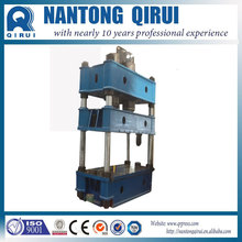 Semi-automatic magnetic material hand operated hydraulic press