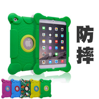 2016 New design High quality shell Silicone case for ipad 1 2 3 mini 1 2 3