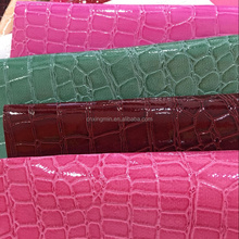 Shining stone pattern PU PVC leather with more cheaper price