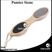 4-in-1 foot scrubber and brush pumice stone foot callus scrubber