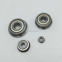 F608ZZ Metal Shielded Flanged Deep Groove Ball Bearing 8x22x7mm