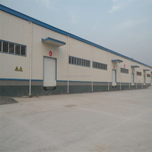 Special design PU Panel Self-extinguished Prefabricated Steel Building Made In China