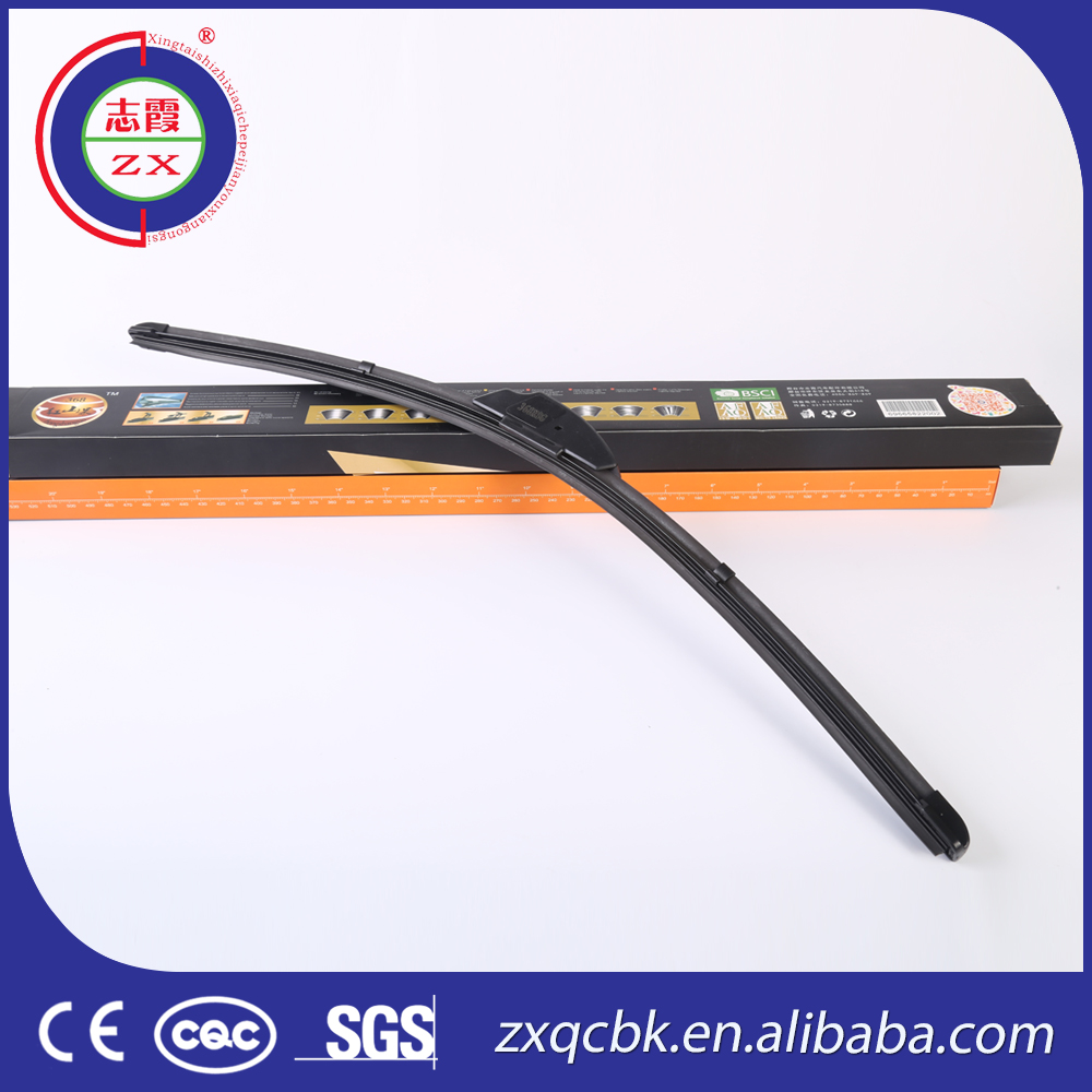 Black rubber nwb wiper blade/High quality car wiper/Clear view window wiper blade