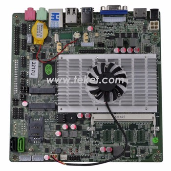 computer parts mini itx server netbook motherboard with intel core i5-2410m processor I5-2410MFS