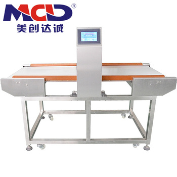 FDA Grade Belt Conveyor Type Metal Detector for Food Industry