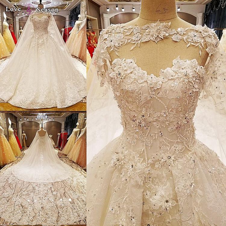 Ls7051 Short Strong Wedding Dresses