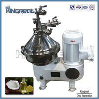 Automatic 3phase disc stack coconut oil filtering machine
