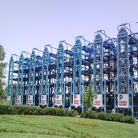 Smart Rotary Vertical Tower Type Parking System