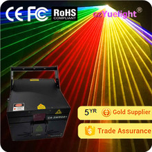 Guangzhou Yuelight 3W RGB Full Color Animation Laser show Light projector system with CE ROHS