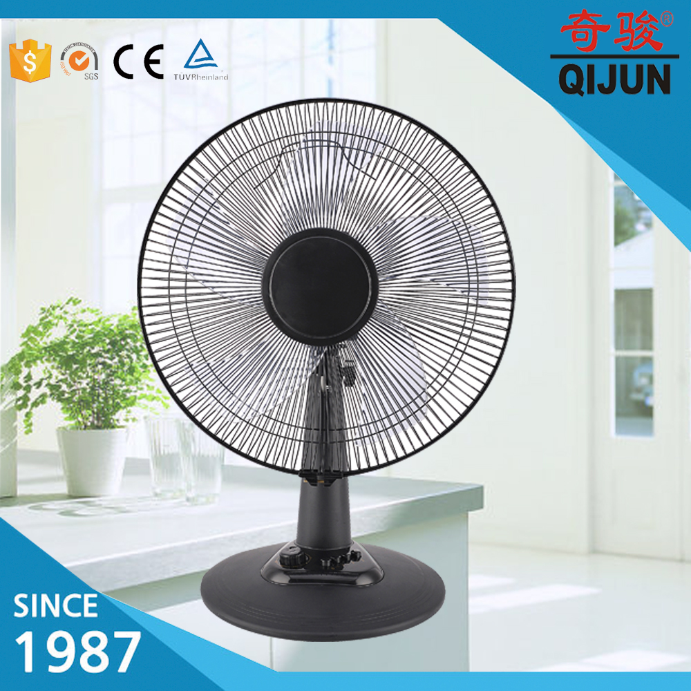 5 Plastic Blades Cooling Fan 16'' Standing Mini Fan Electric Table Fan