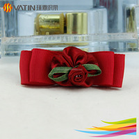 New product ribbon hair flower clip claw handmade
