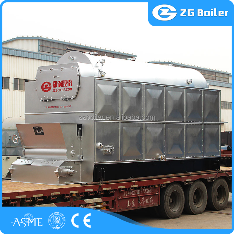 Cheap price steam boiler & heat water wood coal boiler for cement plant
