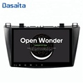 Dasaita 9 inch touch screen Android 8.0 car DVD player for Mazda 3 2010 2011 2012 with navigation system bluetooth multimedia