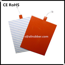 Silicone Rubber Heating pad for Welding Preheating