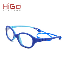 Children eyeglasses TR90 soft rubber kids optical frame manufacture in Wenzhou