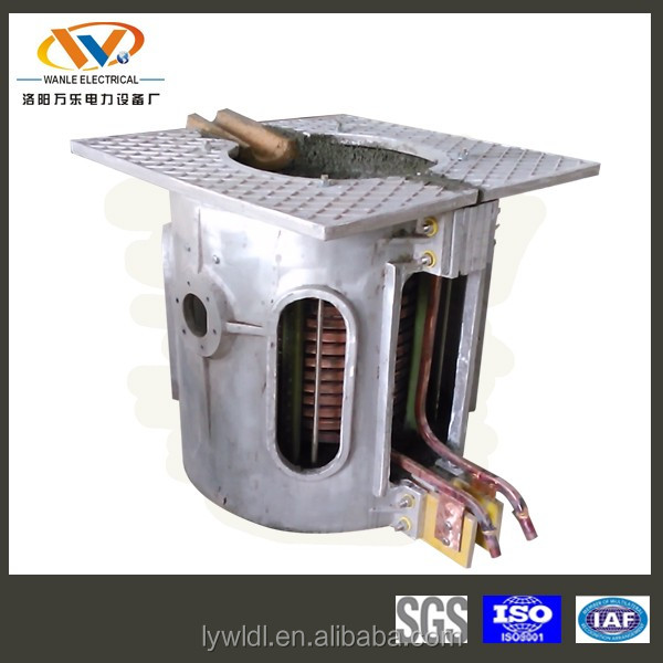 0.5-2 ton tilting rotary furnace/lead melting equipment/ electric furnace for copper scrap
