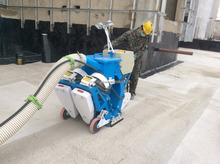 portable dustless mobile chain shot blasting machine