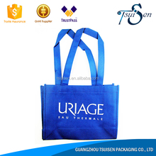 Black shopping custom printed non woven bag import cheap goods from china