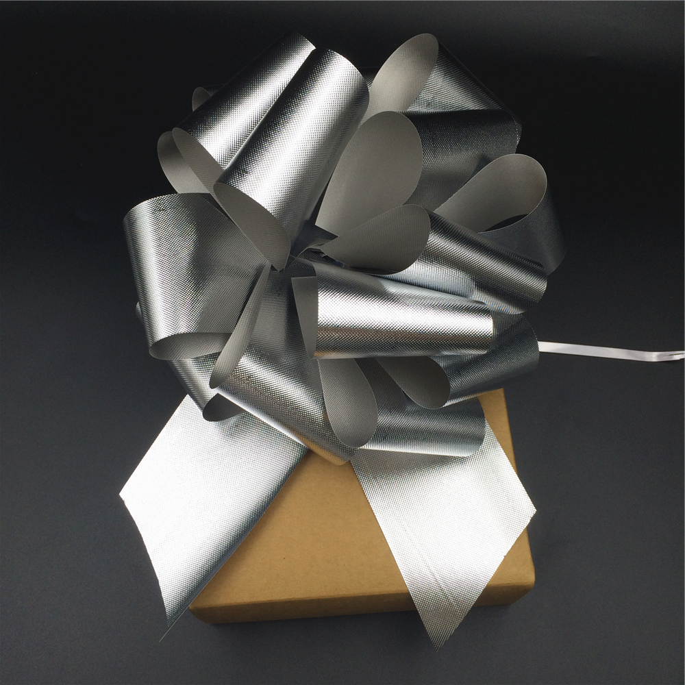 Wholesale Christmas ribbon design gift packaging Pull Bow