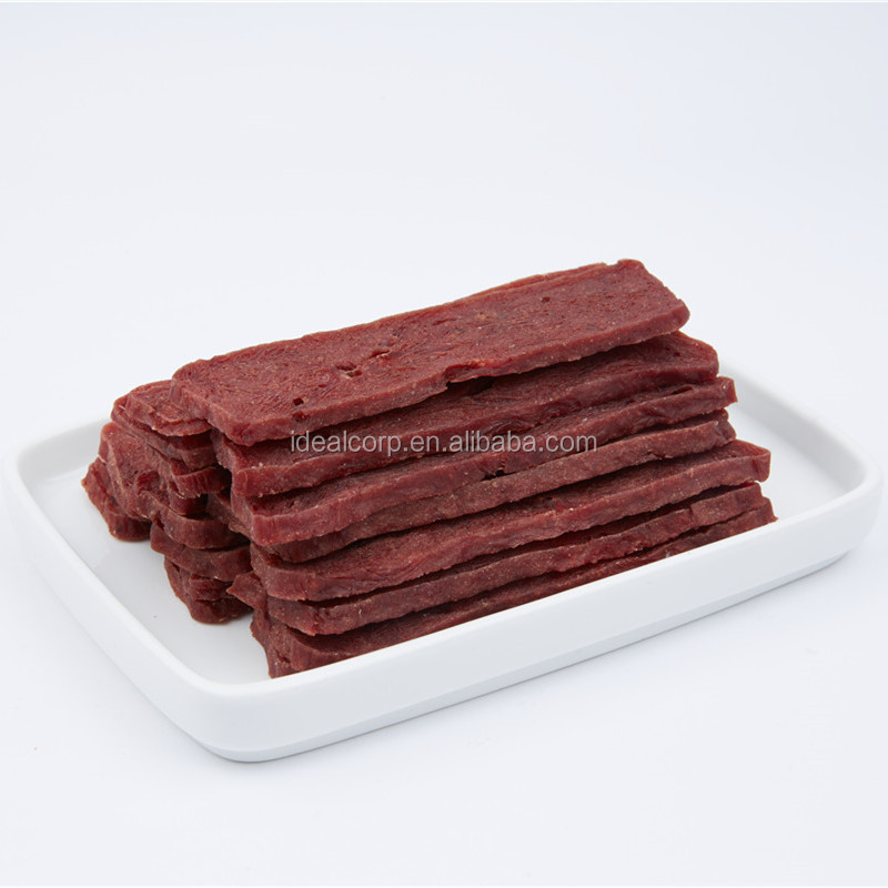 qingdao petideal beef jerky pet treats for dog