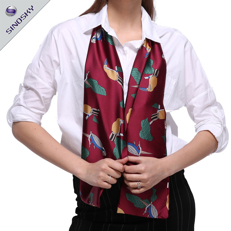 Women colorful design Pattern Polyester Scarf