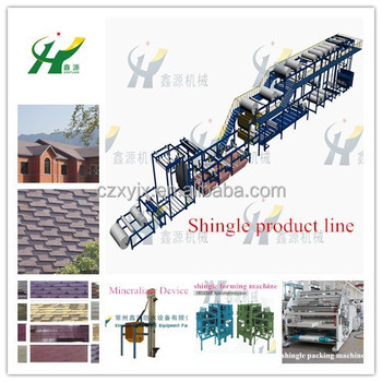 High quality asphalt shingles making machine