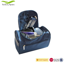 Cost-effective High Quality Convenient Durable Navy Blue Nylon Cosmetic Bag from Chinese Manufacturer