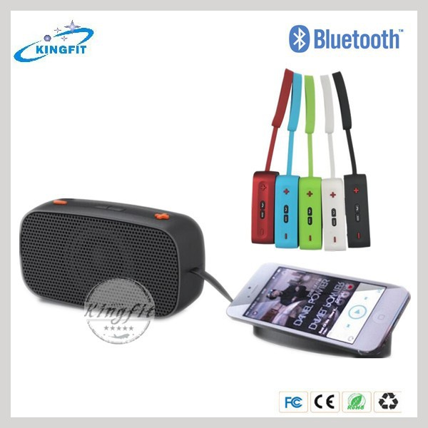 Factory OEM mini multifunctional wireless mobilephone bluetooth speaker with microphone shenzhen for iphone 6 plus support MP3