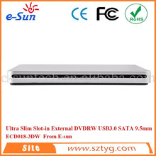 ECD018-3DW External USB 3.0 BD-R BD-ROM CD-ROM Combo DVD CD RW Burner Drives