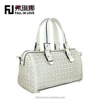 new arrived Pierced 2014 popular lady shoulder bag handbag fashion handbag with beautiful daisy pattern